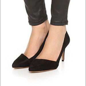 Madewell Mira Suede Heel, 8
